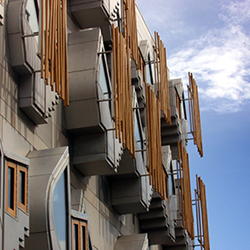 MSP offices at the Scottish Parliament
